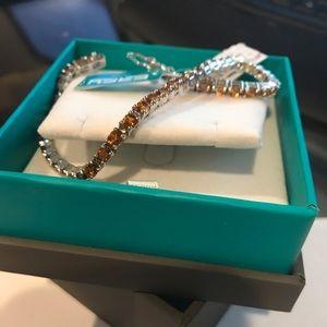 Effy citrine and sterling silver tennis bracelet
